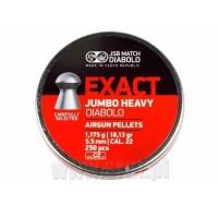 ŚRUT JSB EXACT JUMBO HEAVY 5,52 mm 250 op.