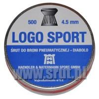 HAENDLER&NATERMANN Śruty Diabolo H&N LOGO SPORT kal. 4.5mm
