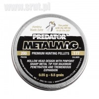 Śrut JSB Metalmag Predator 4,5 mm, 200 szt.