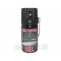 Gaz pieprzowy Defense Graphite GEL Cone 40 ml