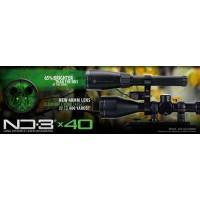 Oświetlenie laserowe Laser Genetics ND3x40