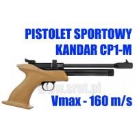 Wiatrówka-pistolet KANDAR CP1-M z magazynkiem