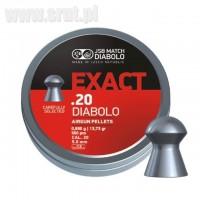 Śrut JSB EXACT Diabolo kal.20 / kal.5,1 mm
