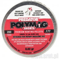 Śrut JSB Polymag Predator SHORTS 4,5mm