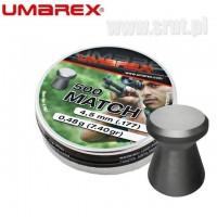 Śrut UMAREX MATCH 4,5 mm 500 sztuk