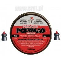 Śrut JSB Polymag Predator SHORTS 5,5 mm