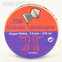 Śrut Diabolo SPITZKUGELN 5,5 mm 250 sztuk