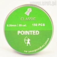 Śrut CLASSIC POINTED 6,35 mm 150 sztuk