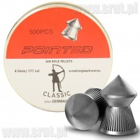 Śrut CLASSIC POINTED 4,5 mm 500 sztuk GERMANY style