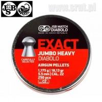 Śrut JSB Exact JUMBO HEAVY 5,53 mm 250 sztuk