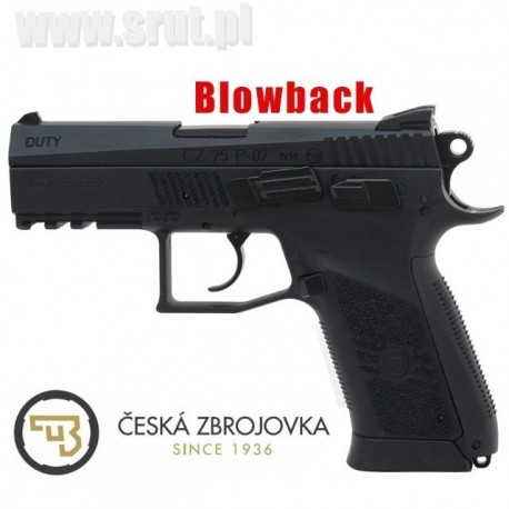 Wiatrówka CZ 75 P-07 DUTY BLOWBACK 4,5 mm