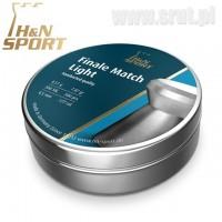 Śrut H&N Finale Match Light 4,49 mm 500 sztuk