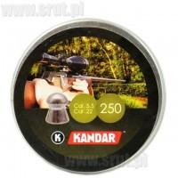 Śrut diabolo KANDAR kal. 5,5 mm - 250 sztuk