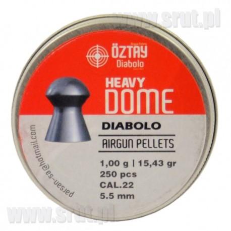 Śrut OZTAY heavy DOME kal. 5,5 mm 250 szt.