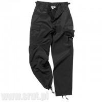 Spodnie Mil-Tec US Ranger BDU Czarne