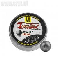 Śrut okrągły TOMITEX 5,5 mm 150 szt.