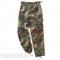 Spodnie Mil-Tec US Ranger BDU WOODLAND