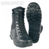 Buty taktyczne z zamkiem Mil-Tec czarne