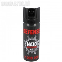 Gaz pieprzowy Defense NATO GEL Cone 50 ml