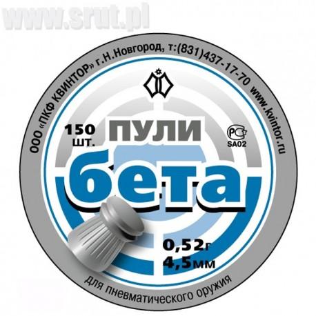 Śrut Kvintor Beta kal. 4,5 mm 150 szt.