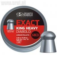 Śrut JSB Exact King Heavy MKII 6,35 mm 150 szt.