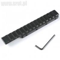 Przejściówka z szyny 11mm na 22mm (Weaver), długość 155mm