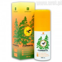 Środek przeciw komarom i kleszczom Foresta spray 30% DEET 100ml