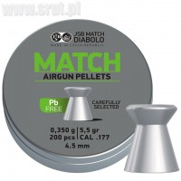 Śrut JSB Match Lead Free kal. 4,5 mm