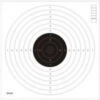 Tarcze strzeleckie 17x17 cm