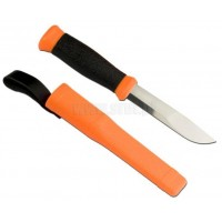 Nóż Mora 2000 Orange stal nierdzewna