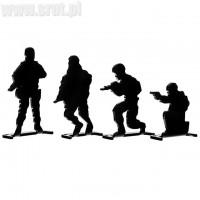 Zestaw celów sylwetkowych Blackfire Army