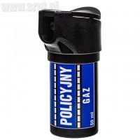 Gaz pieprzowy Policyjny 50 ml - strumień