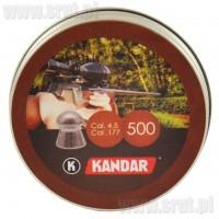 Śrut Diabolo Kandar 4,5 mm 500 sztuk