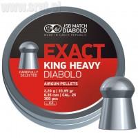 Śrut JSB Exact King Heavy 6,35 mm 300 szt.