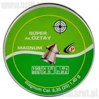 Śrut Diabolo Oztay szpic kal. 6,35 mm 150 sztuk