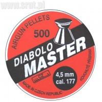 Śrut Diabolo Kovohute Master 4,5 mm 500 szt.