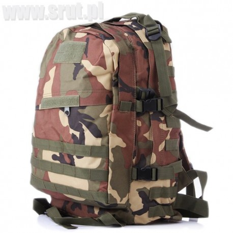 Plecak taktyczny 45 l woodland