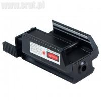 Celownik laserowy Mini Red Dot z przesuwnym włącznikiem