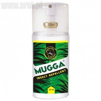 Repelent Mugga Spray 9,5% DEET na komary i kleszcze 75ml