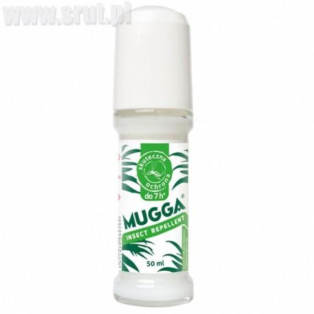 Repelent mleczko Roll-on Mugga 20% DEET na komary i kleszcze 50 ml