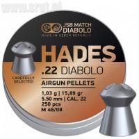 Śrut JSB Hades 5,5 mm 250 szt.