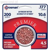 Śrut Crosman Copper Magnum Domed 4,5 mm 200 szt.