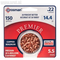 Śrut Crosman Copper Magnum Domed 5,5 mm 150 szt.