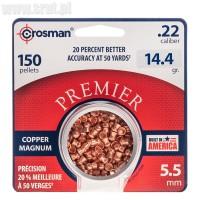 Śrut Crosman Copper Magnum Domed 5,5 mm 150 szt.
