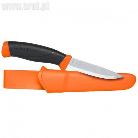 Nóż Mora Companion Orange stal nierdzewna