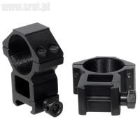 Montaż dwuczęściowy Wysoki Leapers 30 mm Picatinny/Weaver