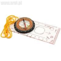 Kompas kartograficzny z linijką