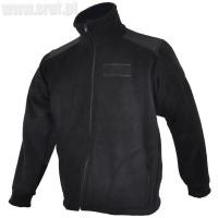 Bluza polarowa czarna 380 g/m2