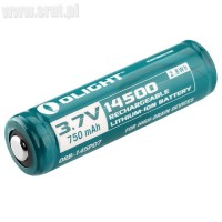 Akumulator Li-ion 14500 Olight 3,7V 750 mAh
