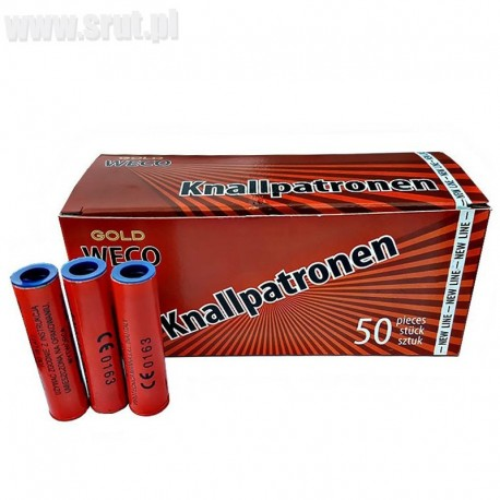Race pistoletowe Knallpatronen Super Blow RP1-2 50 szt.